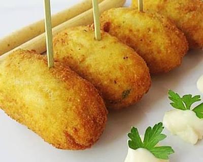 Resep Cemilan Sehat: Kroket Kentang Keju dengan Sayuran, Mm Lezat!