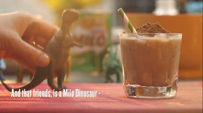 Milo+Dinosaur=Sugar Rush!