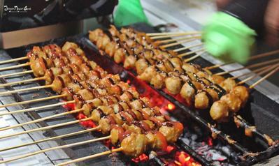 DIY Resep Masakan, Cemilan Bikin Kenyang Bakso Bakar Gurih dan Lezat
