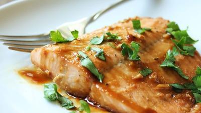 3. Maple Salmon
