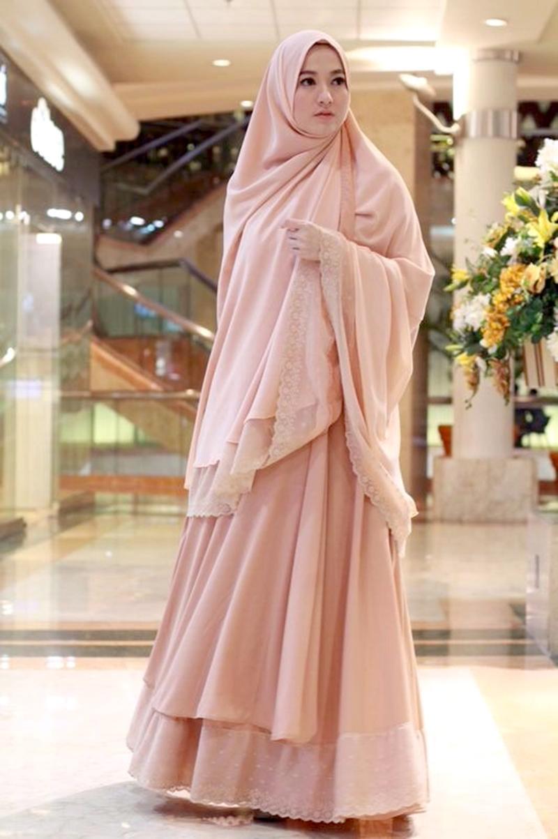 Sederhana Dan Elegan Tips Style Hijab Syar I Pesta Untuk Kondangan