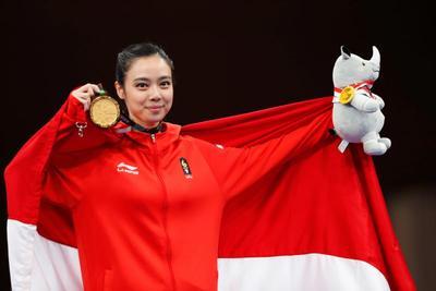Asian Games 2018: Si Cantik Lindswell Kwok, Ratu Wushu Asia Tenggara