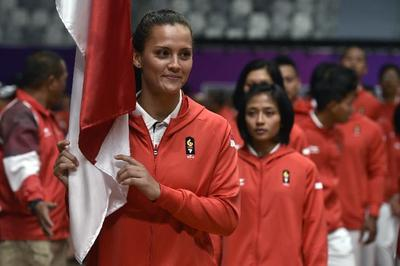 Asian Games 2018: Mengenal Atlet Blasteran Cantik Jujitsu, Simone Julia