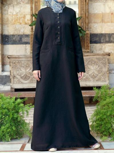 Linen Dress Hijab