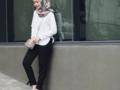 Dengan 6 Model Baju Kerja Kasual Muslimah Ini, Tampil Modis ke Kantor Tak Akan Ribet!