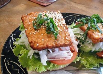 Resep Masakan: Mudah dan Praktis, Sandwich Tempe Ini Wajib Moms Coba Anak Saat Sakit