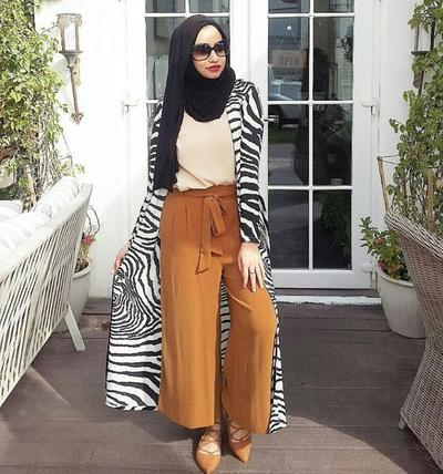 4 Tips Style Kulot Hijab untuk Moms yang Bertubuh Gemuk