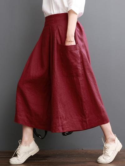Choose a Flowy and Wide Culottes
