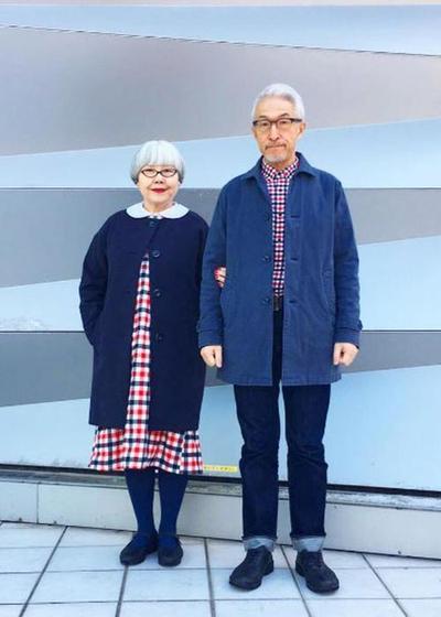 Pasangan Lansia dari Jepang