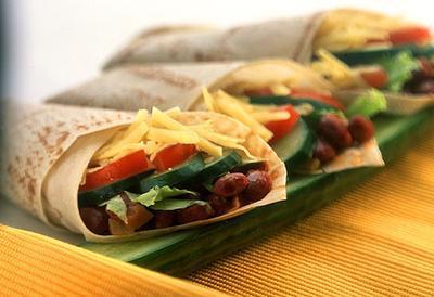 6. Burritos (450 kalori/porsi)