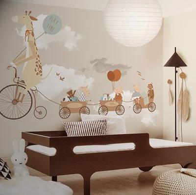 Gemasnya! Inspirasi Tema untuk Mural di Kamar Anak Ini Bisa Kamu Contek