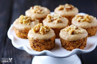3. Raw Carrot Cake With Cashew Vanilla Frosting