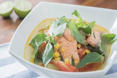 Resep: Salmon Kuah Rumahan Enak dan Bergizi buat Keluarga