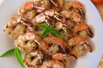 3. Italian Grilled Shrimp Kabob's