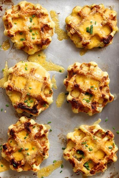 Mashed Potato Waffle