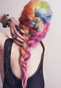 Ombre Hair Semi Permanen