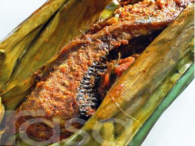 1. Pepes Ikan Pari