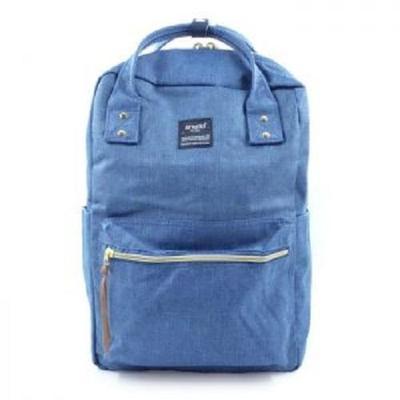 5. Anello Square Denim Diaper Bag