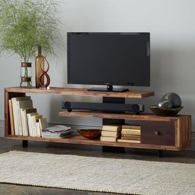 Percantik Ruang Keluarga dengan Inspirasi Desain Meja TV Minimalis 2018 Ini