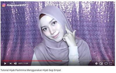 Tutorial Hijab Manis