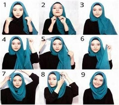 Tutorial Hijab Praktis