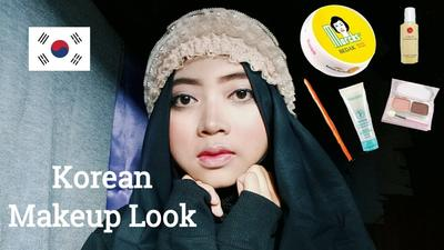 3. Make Up ala Korea dengan Produk Indonesia