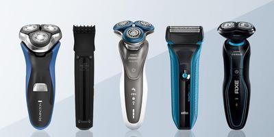Mencukur Dengan Alat Cukur Rambut Elektrik