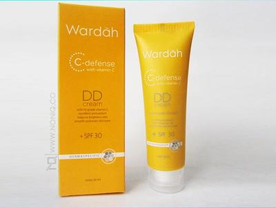 DD-Cream Wardah C-Defence with Vitamin C