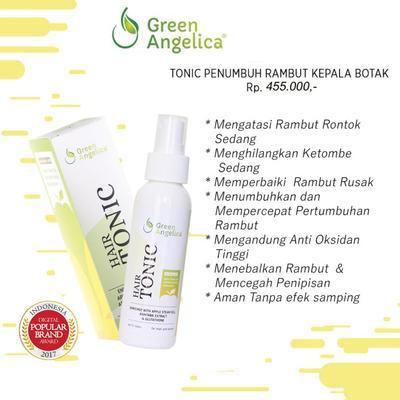 10. Green Angelica Hair Tonic