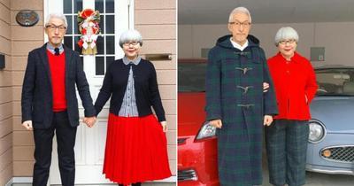 Kondangan Bareng Suami, Lebih Pilih Baju Couple atau Samaan Warna?