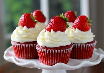Cupcake Panggang Red Velvet