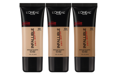 L'oreal Infallible Pro Matte Shade