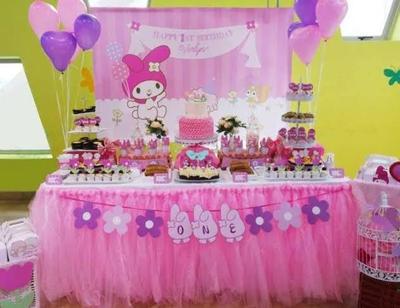Dekorasi Ulang Tahun Anak Perempuan