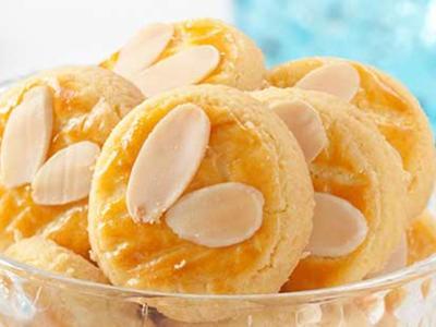 Kue Kering Keju Almond