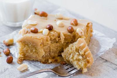 Cake Kacang Tanah