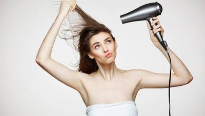 Hindari pemakaian hair dryer