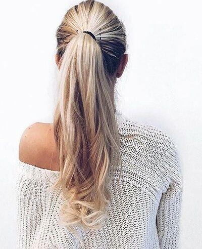 Jangan mengikat rambut terlalu kencang