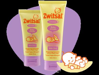 Zwitsal Baby Cream untuk Kelembapan Kulit si Kecil