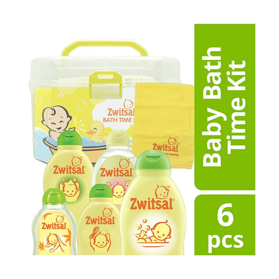 Zwitsal Baby Bath Time Kit