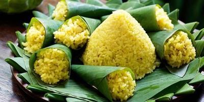Resep nasi kuning gurih pulen