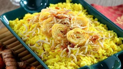 Resep nasi kuning sederhana