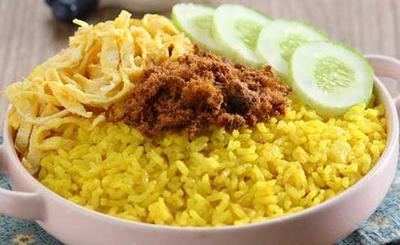 Resep nasi kuning rice cooker