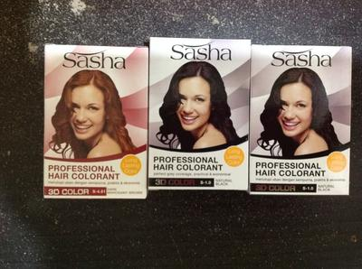Praktis! Ini Dia Pewarna Rambut Sasha yang Bisa Dipakai Tanpa Harus ke Salon