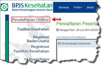 Mudah dan Praktis, Ini Tata Cara Daftar BPJS Online.