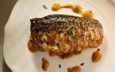 Ikan tenggiri goreng