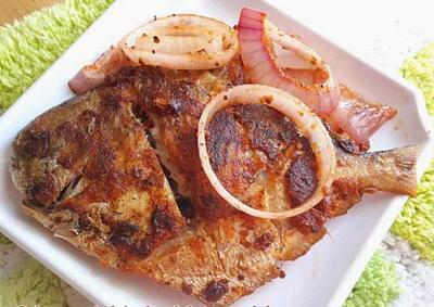 Resep ikan bawal goreng