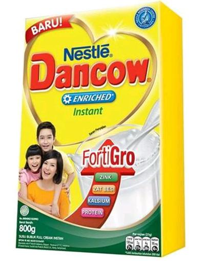 Susu Dancow Fortigro Enriched Full Cream
