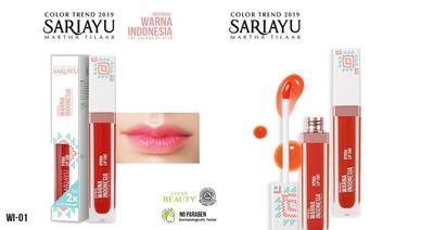 Hydra Lip Tint Sariayu, Melembapkan sekaligus Mencerahkan Warna Bibir