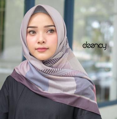 Kerudung Deenay Motif Terbaru