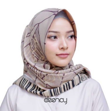 Hijab Segi Empat Motif Kerudung Deenay Terbaru 2019 Jilbab Voal